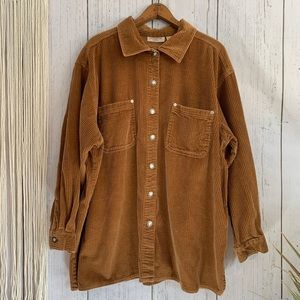 Vintage Crossroads Corduroy Button Down Shirt